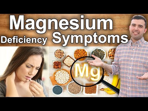 10 Symptoms Of Magnesium Deficiency - Signs And Symptoms Of Magnesium Deficiency And Its Uses