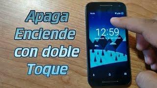 Apaga y enciende la pantalla de tu móvil con dos toque - TapTap To Lock