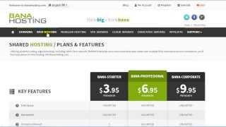 Comprar un Hosting Profesional Fácil y Rápido en BanaHosting, HostGator, GoDaddy
