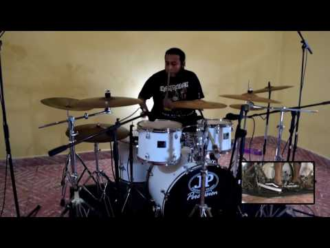 Carlos Barahona - If Eternity Should Fail - Iron Maiden 2016 ( drum cover )