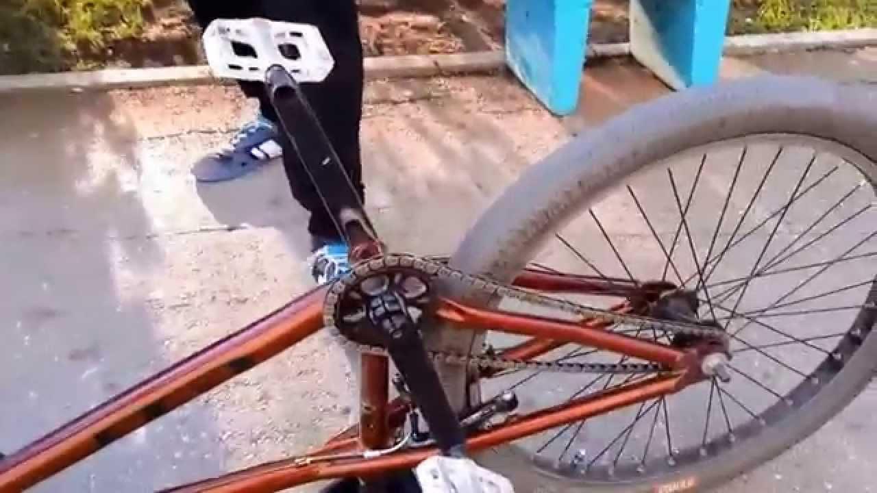 Горный велосипед - Ремонт. Обслуживание цепи. - YouTube