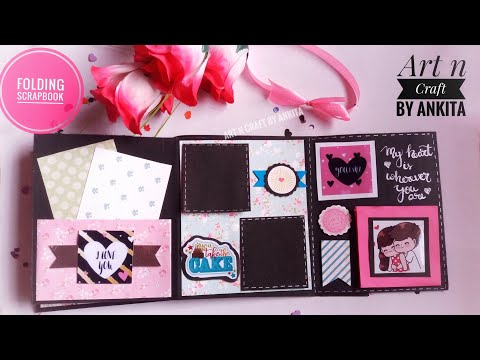 DIY Handmade Birthday Folio Album| Best Gift ideas|Scrapbook| Card|Flipbook