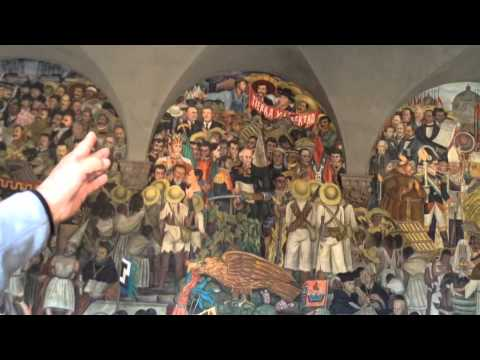 Diego Rivera's Murals in Mexico City at the Palacio Nacional