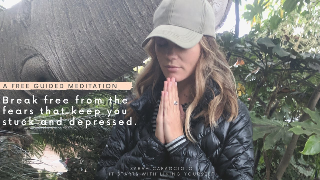 Guided Meditation/Visualization:  Break free from the fears that keep you stuck and depressed.