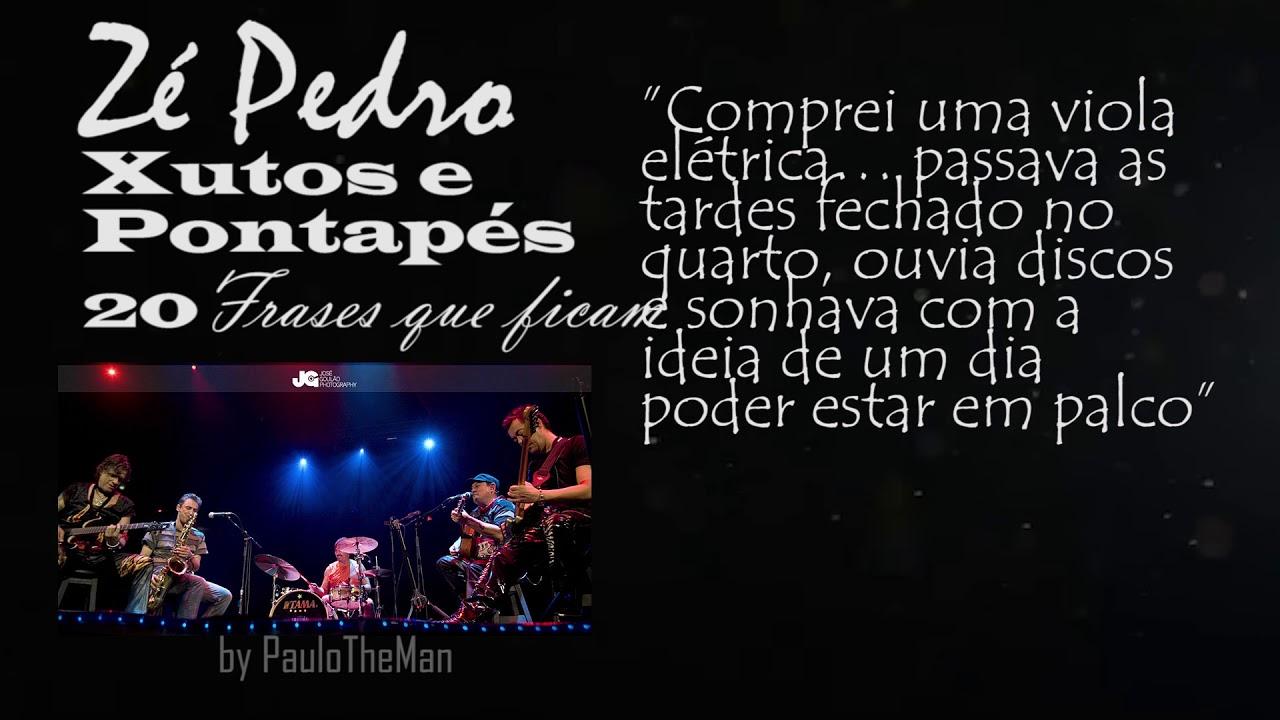 Zé Pedro Xutos As 20 Frases Do Homem E Guitarrista Que Ficam Para Sempre