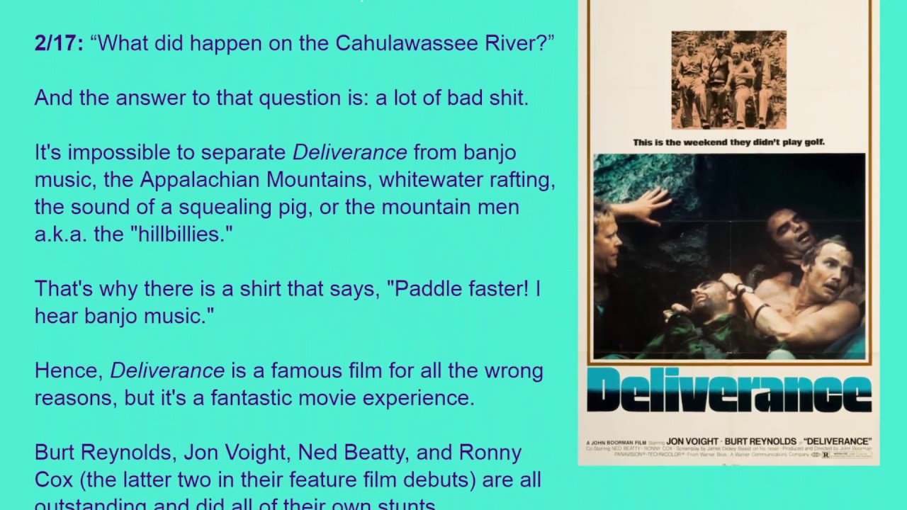 Movie Review Deliverance 1972 HD