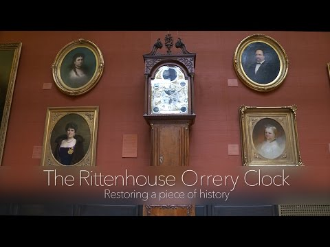 The Rittenhouse Orrery Clock: Restoring a Piece of History
