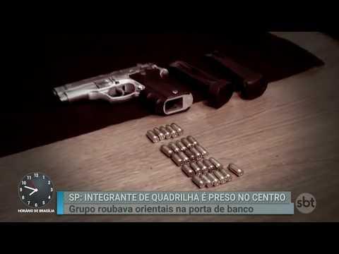 Polícia prende membro de quadrilha especializada em roubar orientais | Primeiro Impacto (08/03/18)