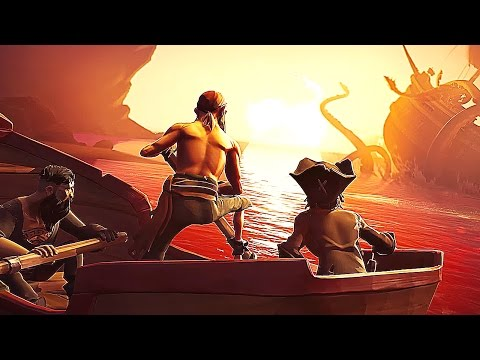 SEA OF THIEVES - 30 Minutes of AWESOME Gameplay (Open World Pirate Game) 2017