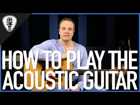 how-to-play-acoustic-guitar---first-guitar-lesson