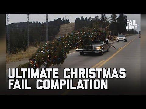 The Ultimate Christmas Fail Compilation – The 8 Fails of Failmas