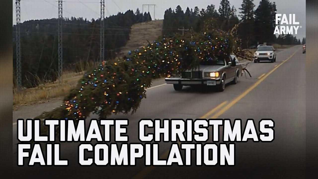 The Ultimate Christmas Fail Compilation - The 8 Fails of Failmas