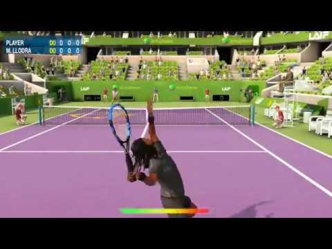 Real tennis game