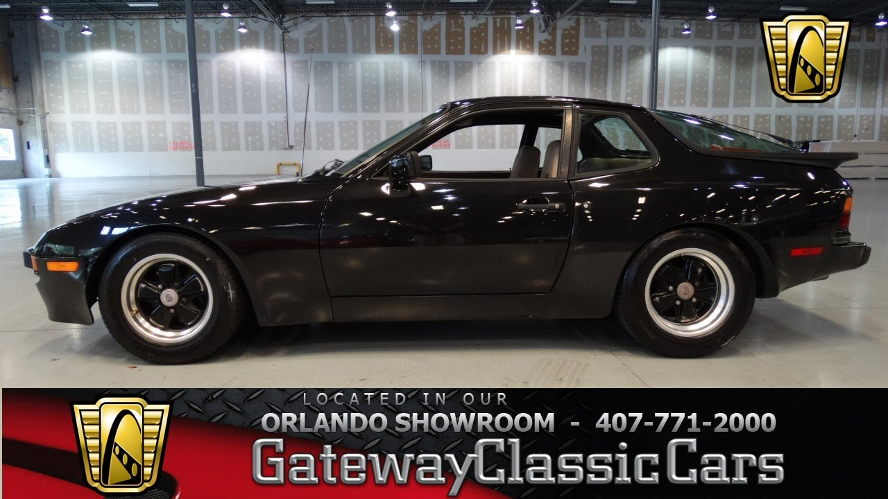 1984 porsche 944 gateway classic cars orlando youtube. Black Bedroom Furniture Sets. Home Design Ideas