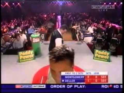 Keith Deller v Roy Montgomery - 2003 World Grand Prix Darts FULL MATCH