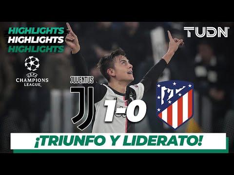 Highlights | Juventus 1 – 0 A. De Madrid | Champions League – J5 – Grupo D | Tudn