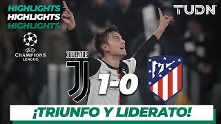 Highlights | Juventus 1 - 0 A. de Madrid | Champions League - J5 - Grupo D | TUDN