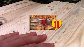 Обработка щитов фасада кухни - 10. Кухня своими руками за $165!