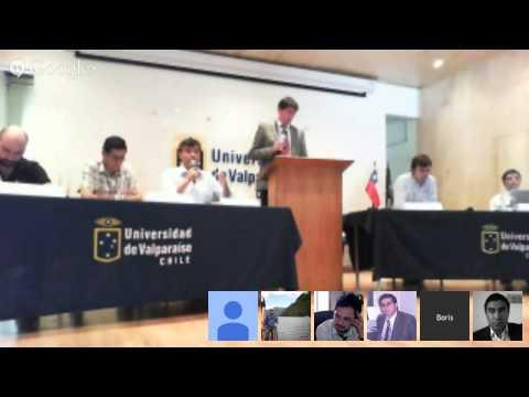Debate parlamentario Distrito 28 Campus Santiago,Universidad de Valparaíso