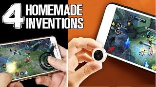 4 Homemade Inventions - ideas and life hacks