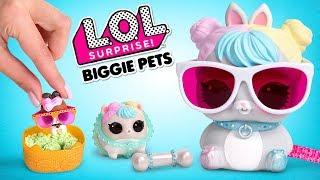 L.O.L. Surprise! Unboxing Biggie Pets | Série Eye Spy
