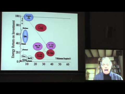 Richard Douthwaite - Money Supply in an Energy Scarce World, Peak Oil - 1 of 4