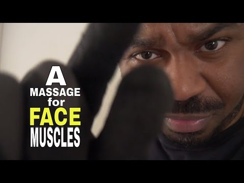 ASMR Face Massage Role Play for FACE MUSCLES with INTENSE Glove Sounds & Hand Movements
