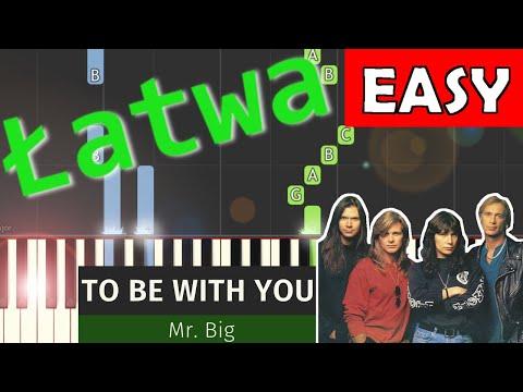 🎹 To Be With You (Mr. Big) - Piano Tutorial (łatwa wersja) 🎹