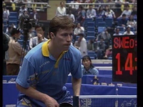 1995 WTTC 43rd (MT-Final/CHN-SWE/game1) WANG Tao Vs Jan-Ove WALDNER [Full Match/Chinese|720p]