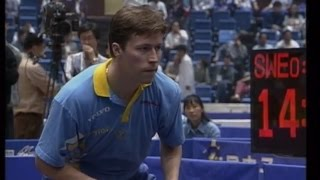 1995 WTTC 43rd (MT-Final/CHN-SWE/game1) WANG Tao Vs Jan-Ove WALDNER [Full Match/Chinese|720p]