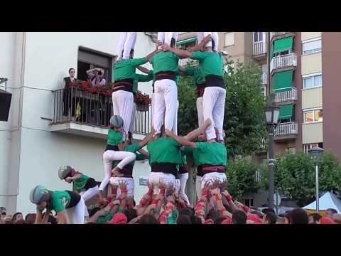 """Castellers de Sabadell a Barberà del Vallès - """" 7d8 """"   (Festa Major Barberà 2017)"""