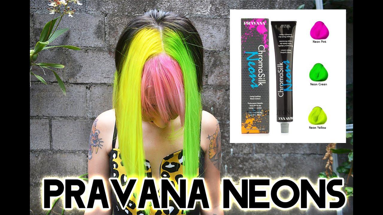 Yaz Trying The New Pravana Neons Español English