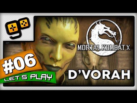 Let's Play:Mortal Kombat X - Parte 6 - D'Vorah