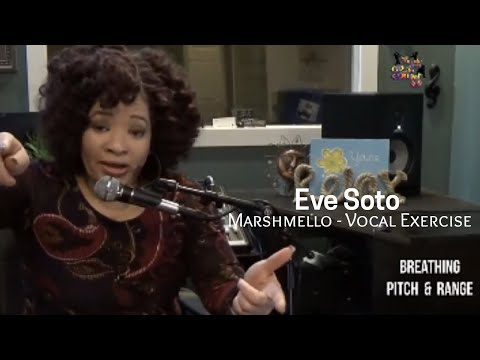 Vocal Workout/Exercise Eve Soto - Happier - Marshmello & Bastille - Breathing, Pitch & Range