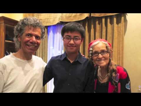 Young Jazz Pianist ABu's Trio Meet Mr...