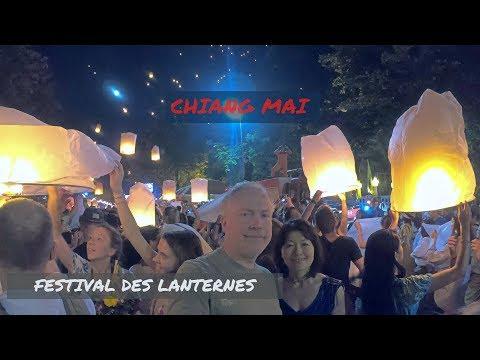 Chiang Mai - Festival Des Lanternes Yi Peng - Loi Krathong 2018 Krathong  Yi Peng Lantern  Thailand