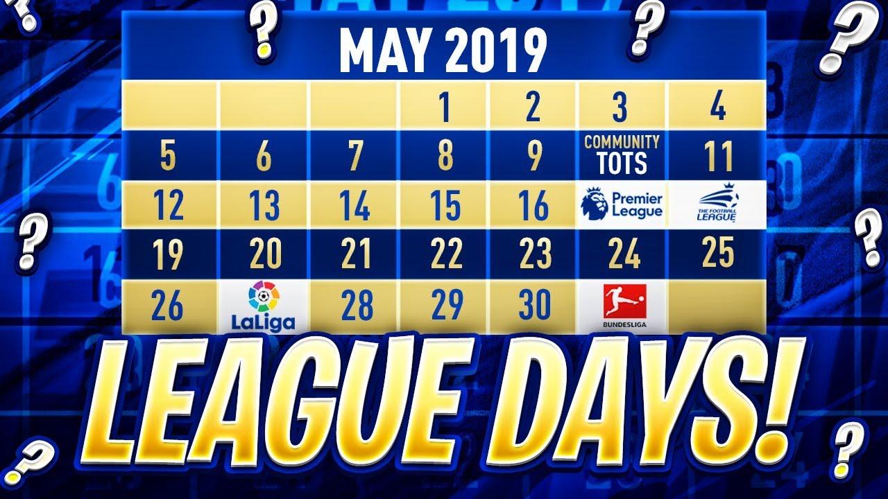 Calendario Bundesliga 2.Tots Each League Release Dates Fifa 19