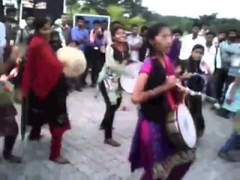 Band by Tamil College Girls...