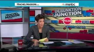 Republican Talking Points Based on LIES - Rachel Maddow