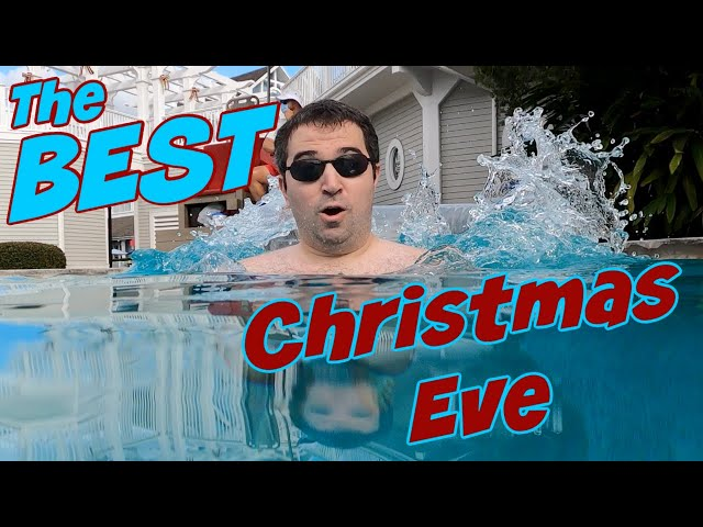 The BEST Pool at Disney World!! Christmas Eve SURPRISE Staycation!!!