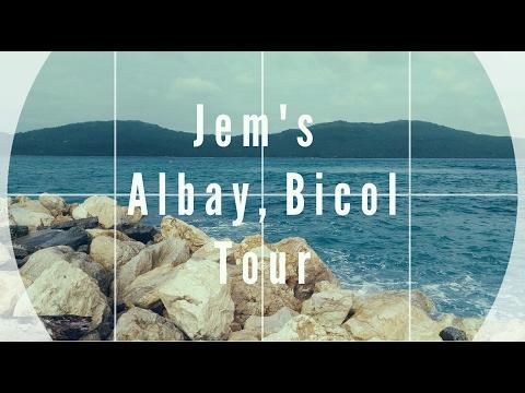  JEM'S TRAVEL VLOG #1  Albay, Bicol Tour