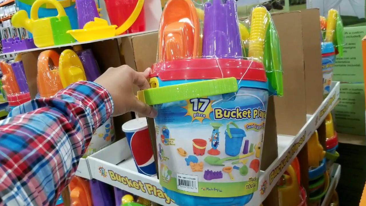 costco 17pc bucket playset