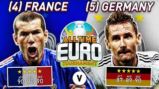 France All Time XI vs Germany All Time XI FIFA 20 All Time EURO