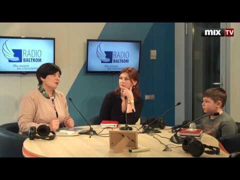 """Наталия Холоша и Елена Федорова вместе с 8-летним сыном Радимиром в программе """"Мамочки!""""  #MIXTV"""