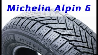 Michelin ALPIN 6 /// Обзор