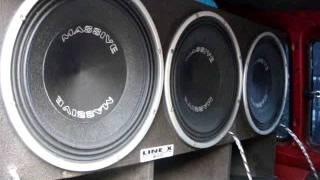 Tahiti 6X15 Massive Audio !!! Rhino !!!