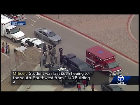 Police audio captures tense moments shooting suspect is found