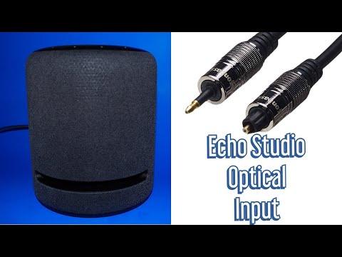 Amazon Echo Studio - Mini Optical Input - Use Your Echo Studio As A Soundbar!