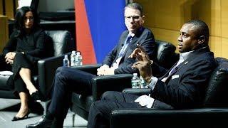 @NFL's Troy Vincent & @NBA's Kiki VanDeWeghe   Wharton Sports Analytics & Business Initiative