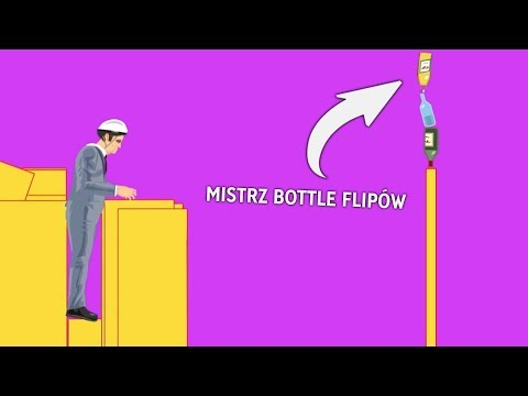 Najlepszy BOTTLE FLIP w historii! (HAPPY WHEELS)